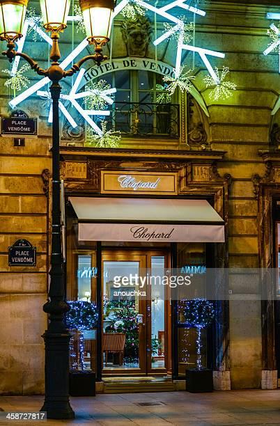 Hotel de Vendome and Chopard Shop, Christmas in Paris