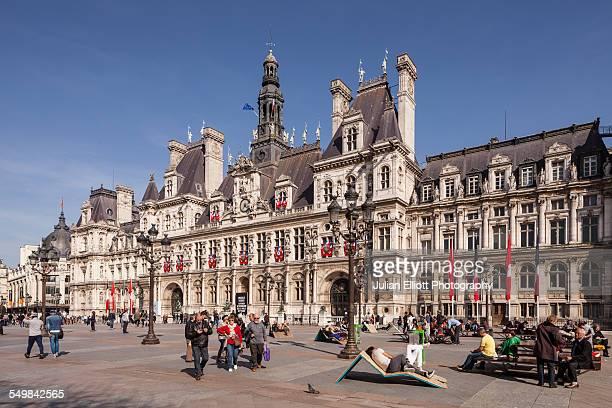 Hotel de Ville in Paris, France