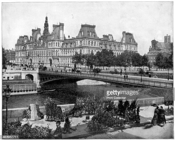 Hotel de Ville Paris late 19th century The city hall of Paris the Hotel de Ville was built in 1871 From the exterior it is a faithful reproduction of...