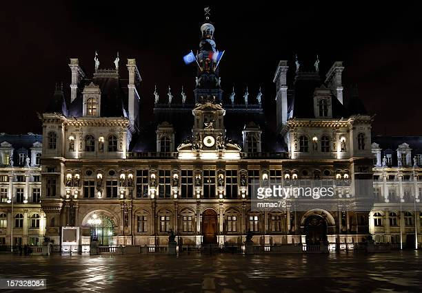 hotel de ville - town hall stock pictures, royalty-free photos & images