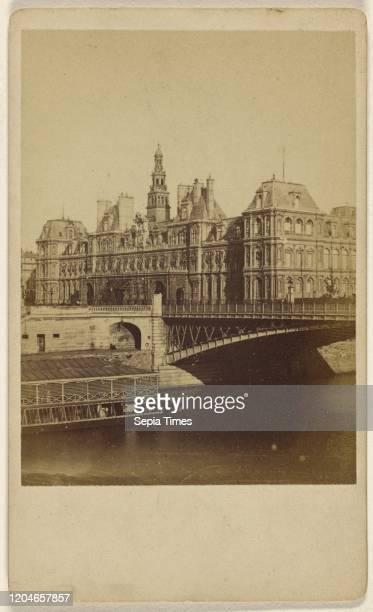 Hotel de Ville , Unknown maker, French, 1865-1870, Albumen silver print.