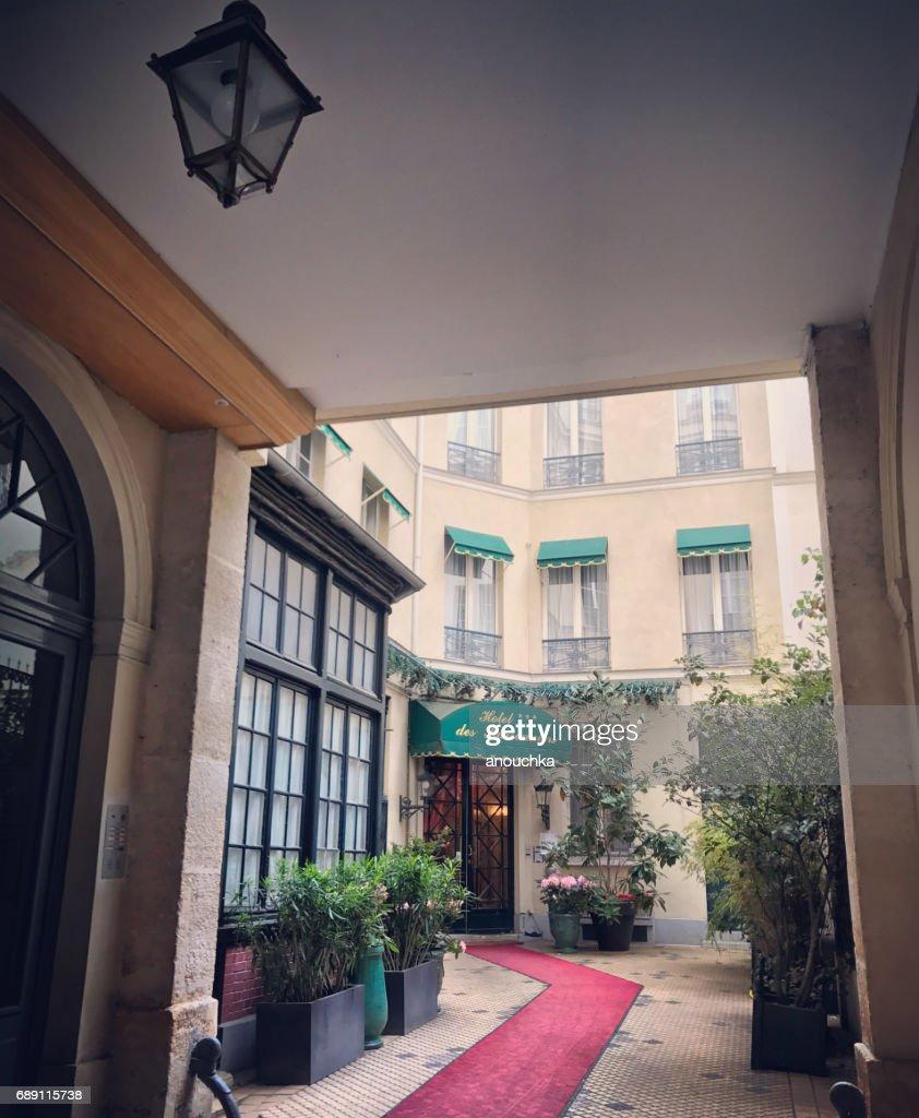 Hotel des Marronniers in Paris, France : Stock Photo