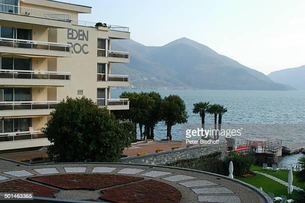 Hotel 'Eden Roc' Ascona am Lago Maggiore Schweiz Europa See Reise BB DIG PNr 478/2006