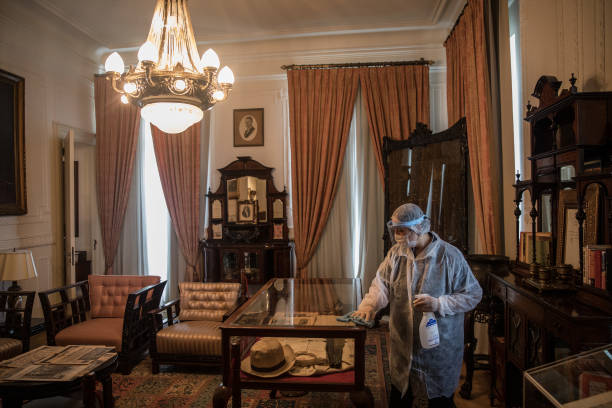 TUR: Istanbuls Historic Pera Palace Hotel Reopens Under New Coronavirus Restrictions