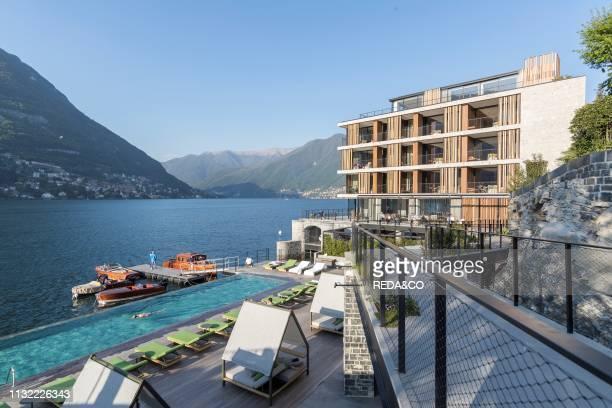 Hotel Il Sereno. Torno. Como Lake. Lombardy. Italy. Europe.