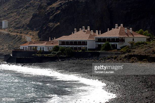 A hotel in El parador on El Hierro Island January 13 2010 in El Hierro Island Spain The island inspired and features in the new film 'Hierro'...