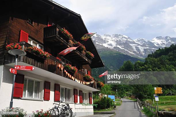 Hotel in Schweizer Alpen