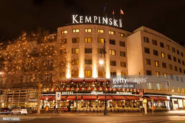 Hotel Kempinski In Der Vorweihnachtszeit Am Kurfürstendamm Berlin