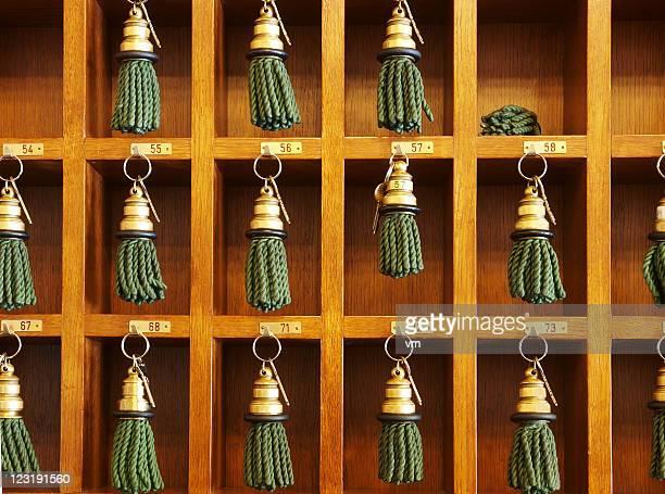 Les clés de l'hôtel