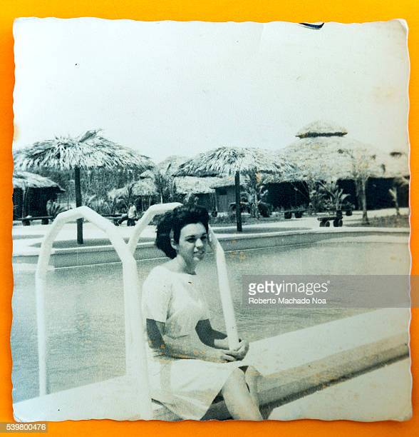 Hotel Los Caneyes in a time close to its opening in 1966 Cuba lifestyle of the 60s Ana Noa Silverio honeymoon pictures