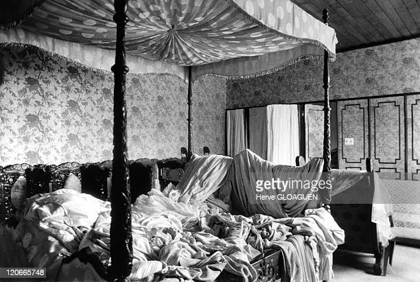 Hotel Majestic Rooms just before # The Fall of Saigon in Saigon Vietnam on April 29 1975 Untidy rooms of the Majestic Hotel just before the fall of...