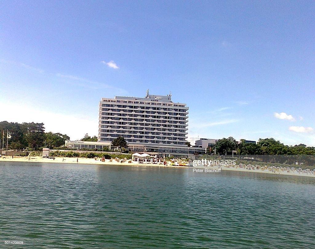 Hotel Maritim Seehotel Blick Von Der Ostsee Auf Strand News