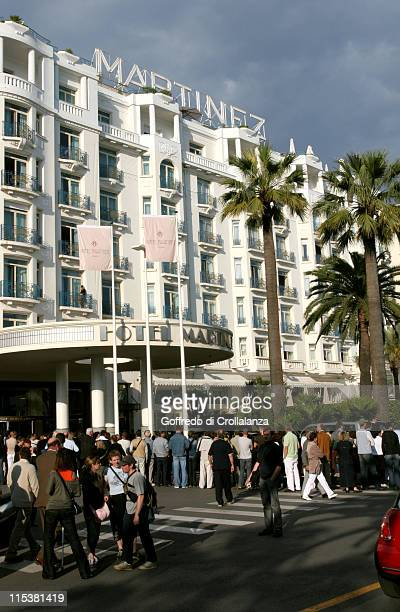 Hotel Martinez during 2005 Cannes Film Festival Atmosphere Day 6 in Cannes France