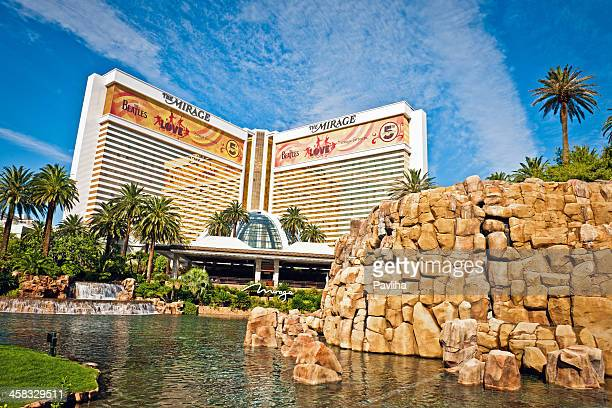 hotel mirage, las vegas, nevada, usa - mirage hotel stock pictures, royalty-free photos & images