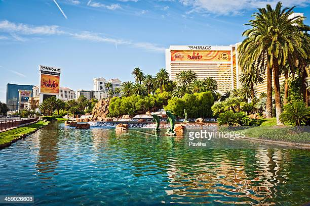 hotel mirage, las vegas, nevada, usa - the mirage las vegas stock pictures, royalty-free photos & images
