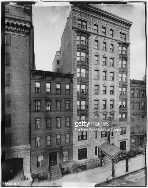 Hotel Monticello, New York, New York, 1895.
