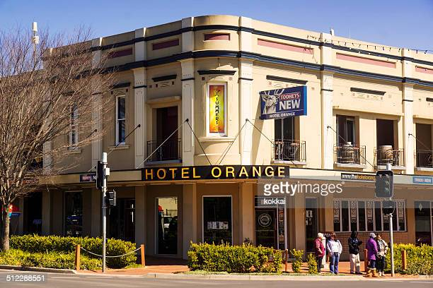 hotel orange - new south wales stock pictures, royalty-free photos & images
