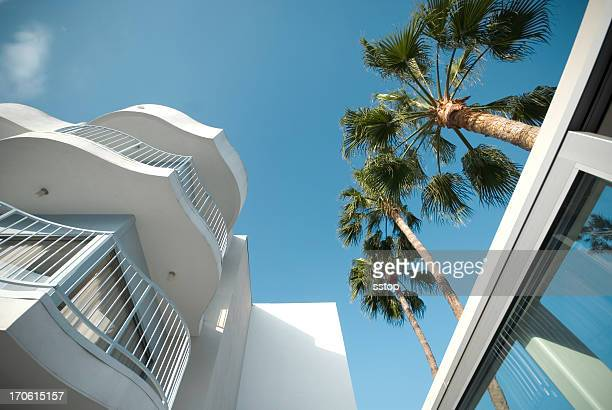 hotel - hollywood california stock photos and pictures