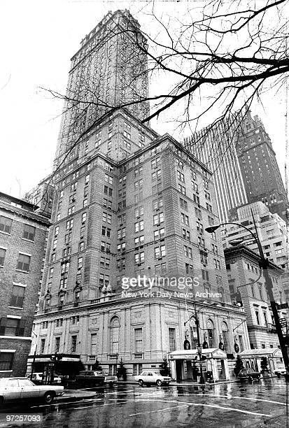 Hotel Pierre on Fifth Ave at 61st St