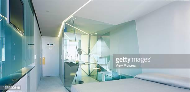 Hotel Puerta America Madrid Spain Architect Plasma Studio Hotel Puetra America Bedroom