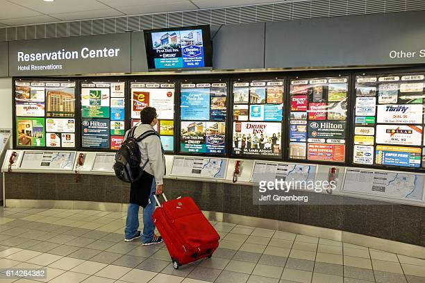 Hotel reservation center in the LambertSt Louis International Airport