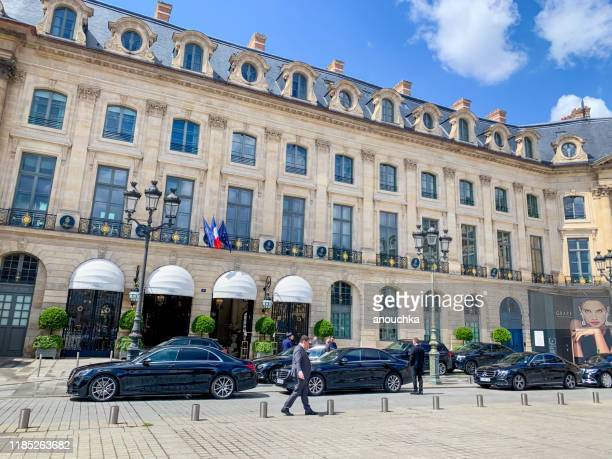 hotel ritz on place vendome, paris - brand name stock pictures, royalty-free photos & images