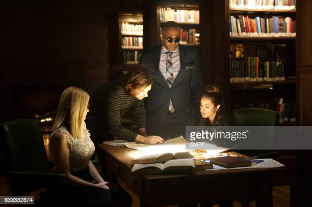 THE MAGICIANS 'Hotel Spa Potions' Episode 202 Pictured Olivia Taylor Dudley as Alice Jason Ralph as Quentin Rick Worthy as Dean Fogg Summer Bishil as...
