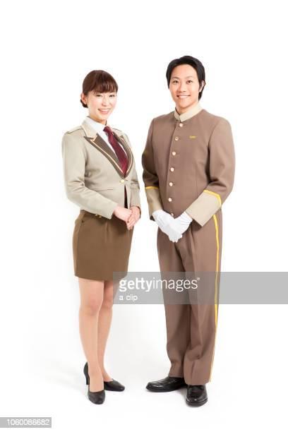 ホテル従業員2人 - 職業 ポーター ストックフォトと画像