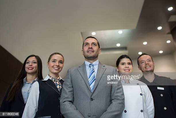 Hotel-Mitarbeiter