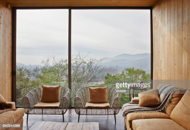 Hotel suite in the vineyards in Chile
