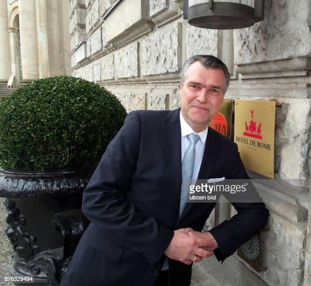 Hoteldirektor Peter Kienast aufgenommen im Rocco Forte Hotel de Rome in Berlin Mitte