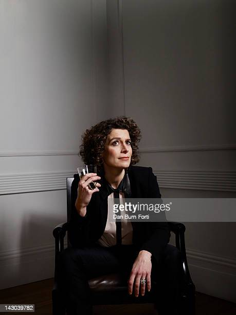 Hotelier and tv presenter Alex Polizzi is photographed for ES magazine on December 22 2011 in London England