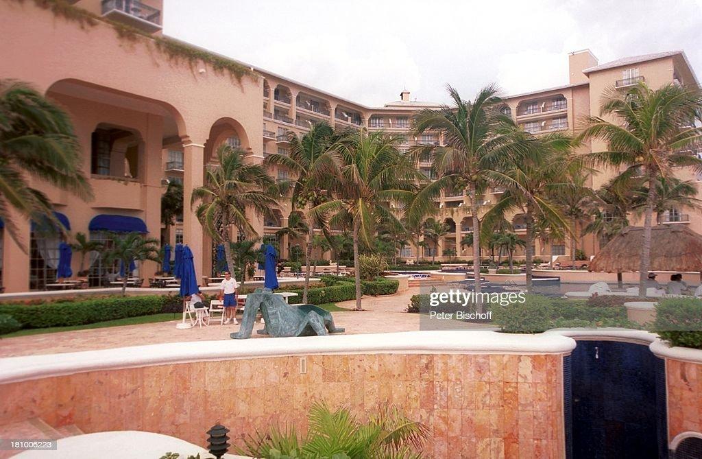 Hotelu0027Ritz Carltonu0027 Reise Cancun/Mexico/Mittelamerika Innenhof Palme