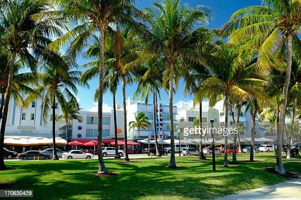 Hotels at Ocean drive, South Beach, Miami