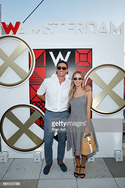 Hotels Global Brand Leader Anthony Ingham and Harley Viera Newton attend All Aboard as W Hotels toasts the upcoming opening of W Amsterdam with...