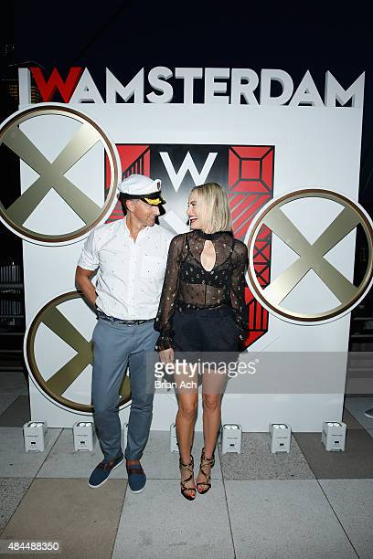 Hotels Global Brand Leader Anthony Ingham and Taylor Schilling attend All Aboard as W Hotels toasts the upcoming opening of W Amsterdam with...