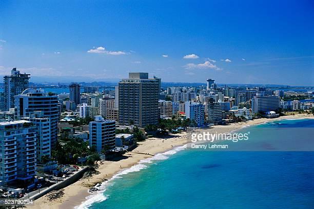 Hotels Lining Condado Beach