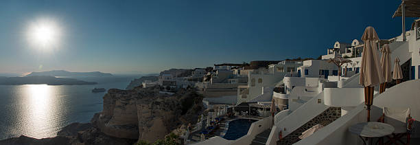 Hotels on the West Coast of Santorini