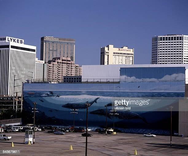 Hotels 'Sheraton' und 'Marriott'in Downtown 1999