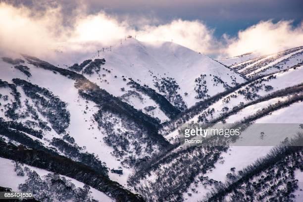 Hotham Heights in Australian Alps, Victoria