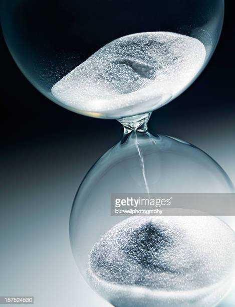 Hourglass, close-up, Time Running out