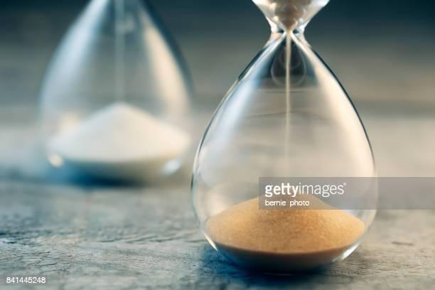 Hourglass flow