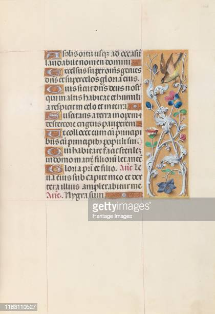 Hours of Queen Isabella the Catholic Queen of Spain Fol 148r circa 1500 This manuscript was illuminated by a circle of at least five highly organized...