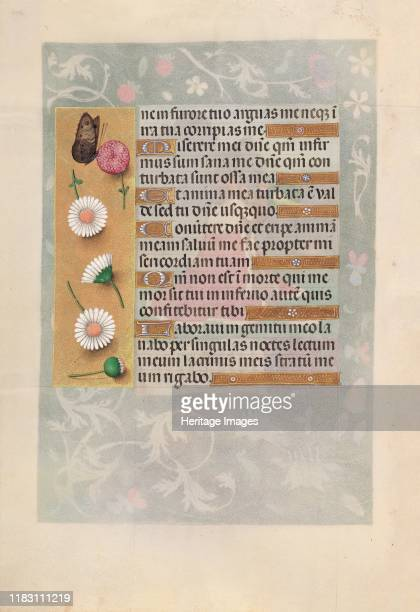 Hours of Queen Isabella the Catholic Queen of Spain Fol 200v circa 1500 This manuscript was illuminated by a circle of at least five highly organized...