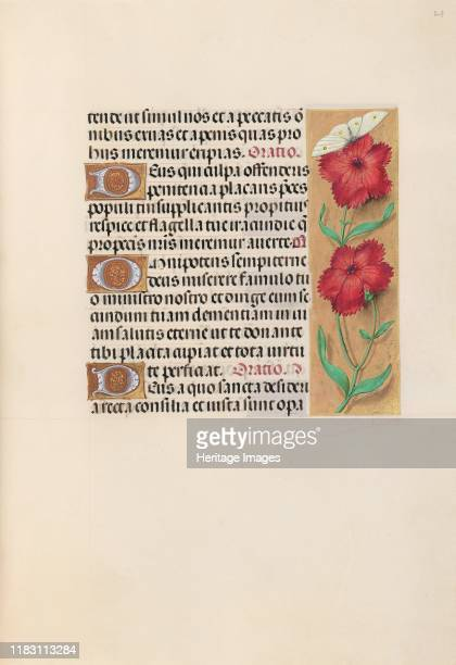 Hours of Queen Isabella the Catholic Queen of Spain Fol 217r circa 1500 This manuscript was illuminated by a circle of at least five highly organized...