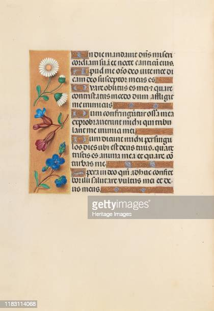 Hours of Queen Isabella the Catholic Queen of Spain Fol 243v circa 1500 This manuscript was illuminated by a circle of at least five highly organized...