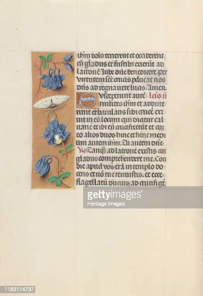 Hours of Queen Isabella the Catholic Queen of Spain Fol 54v circa 1500 This manuscript was illuminated by a circle of at least five highly organized...