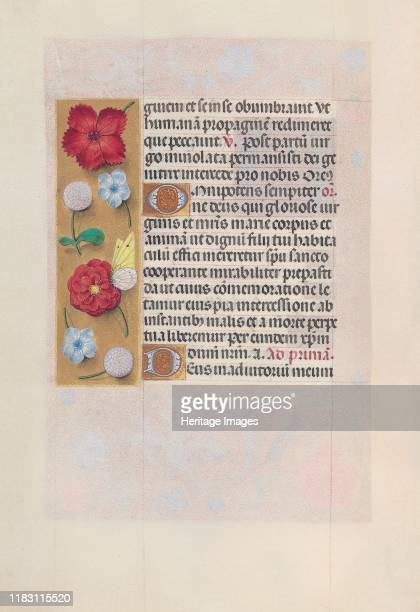 Hours of Queen Isabella the Catholic Queen of Spain Fol 81v circa 1500 This manuscript was illuminated by a circle of at least five highly organized...