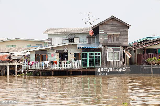 House and clothes in Bangkok