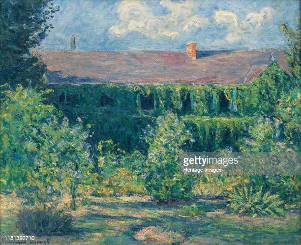 House and Garden of Claude Monet Found in the collection of Musée Municipal AlphonseGeorges Poulain Vernon Artist Hoschedé Monet Blanche